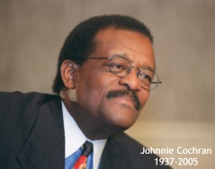 Portrait of Mr. Johnnie Cochran